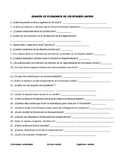 Spanish mock U.S. citizenship exam - vocab practice, Realidades 3, Chapter 5