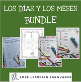 Spanish months and days bundle - Los días y los meses