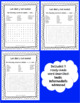 Spanish months and days word search activities - Los días y los meses