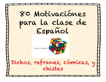 Spanish motivations collection