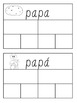 Spanish  m/p initial sounds sort & activities