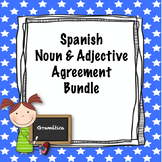 Spanish noun and adjective agreement bundle