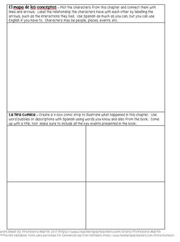 photo relating to Printable Spanish Reading Comprehension identified as Spanish novel looking at being familiar with worksheet