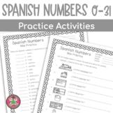 Spanish numbers 0-31
