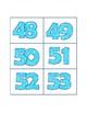 Spanish number flashcards