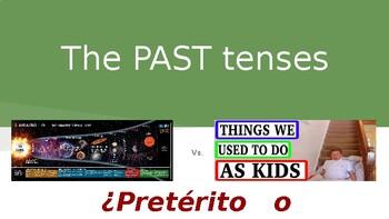 Spanish past tenses: Preterite vs. Imperfect