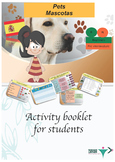 Spanish pets, mascotas booklet for beginners