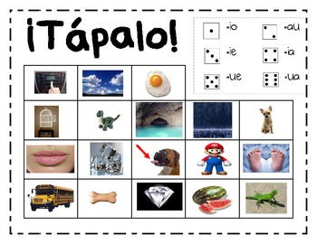 Spanish phonics game