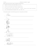 Spanish positive tú commands chores with clipart