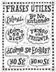 Spanish posters ~Spanish phrases Spanish decor Word wall ~bulletin board no prep