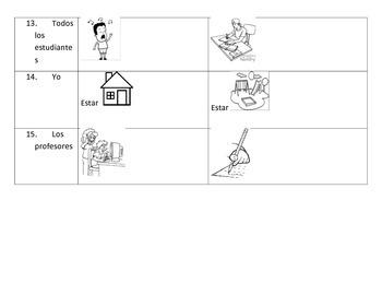 Spanish practice- Near future and present tense