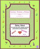 Elena, Elena, (Spanish Prepositional Pronouns) -  Chant with exercises and MP3