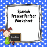 Spanish present perfect worksheet