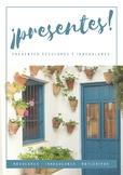 Spanish present tense booklet - Cuaderno para practicar ve