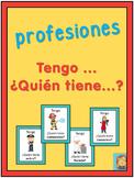 Spanish professions  Tengo ... ¿Quién tiene ...?
