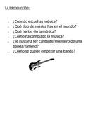 Spanish project-music