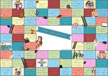 Spanish questions game (Intermediate and upper-intermediate) (AS/A level in UK)