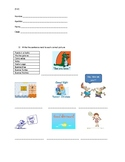 Spanish quiz - First / Second grade - Greetings / Shapes