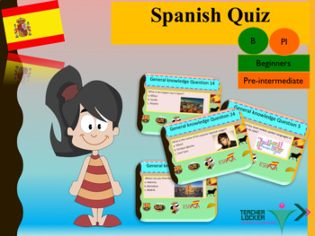 Spanish quiz back to school for beginners