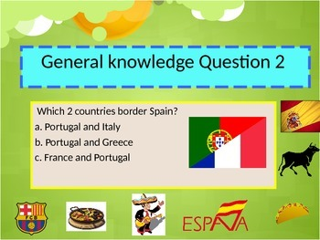 Spanish quiz back to school freebie for beginners
