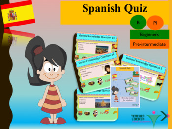 Spanish quiz end of year full lesson for beginners
