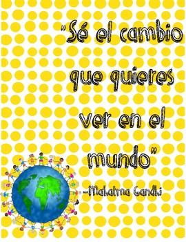 Spanish quotes for your classroom