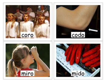 Spanish /r/ and /d/ Minimal Pairs