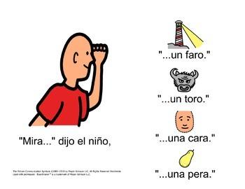Spanish /r/ tap in Simple Sentences