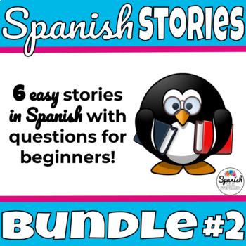 Spanish Reading Activities: Novice Bundle 2