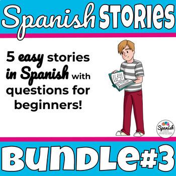 Spanish reading: Beginner Bundle 3