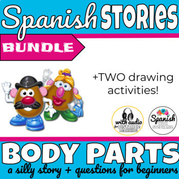 Spanish reading: Body Parts