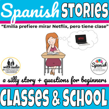 Spanish Reading: School subjects and classes