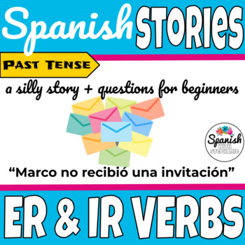 Spanish reading: -ER & -IR verbs (past tense)