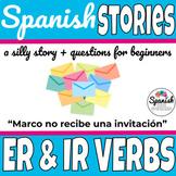 Spanish reading: -ER & -IR verbs vocab practice (Marco)