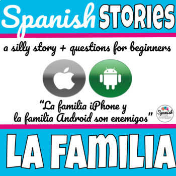 Spanish reading: Family (iPhone vs. Android)