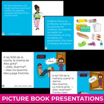 Spanish 1 Reading Comprehension Activities Mega Bundle