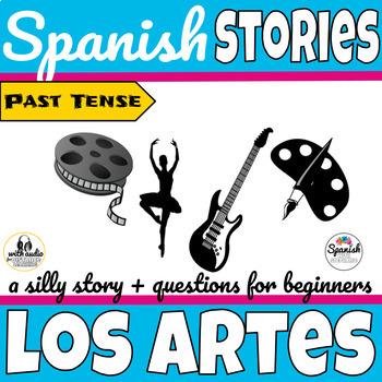 Spanish reading: Movies, Art, and Music (past tense)