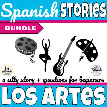 Spanish Reading: Movies, Art, and Music (past/present bundle)