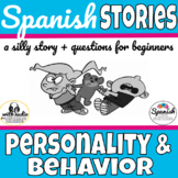 Spanish reading: Personality and Behavior (Así se dice ch. 6)