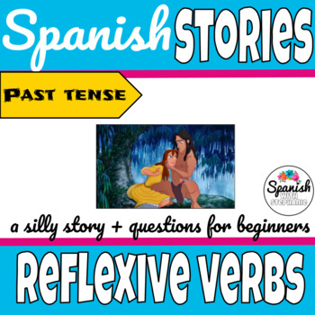 Past Tense Spanish Stories Worksheets & Teaching Resources | TpT