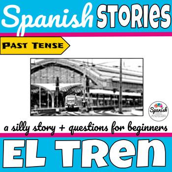 Spanish reading: Train travel (past tense)