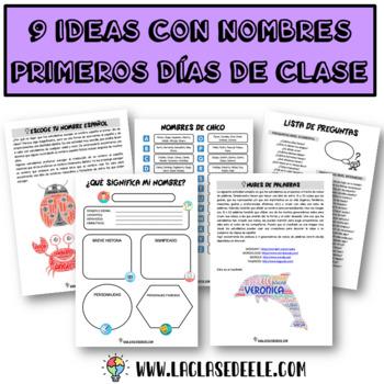 5 Juegos e ideas basados en nombres para el primer día de clase