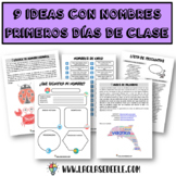 Spanish reading comprehension activities + answer key on t