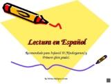 Spanish reading syllables Kindergarten/First grade, based on Estrellita method.