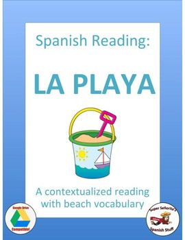 Spanish reading: Beach Vocabulary