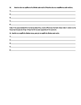 Spanish reflexive verb partner activity and daily routine vocab