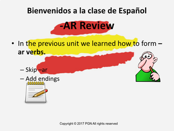 Spanish regular -er verbs: conjugation and practice
