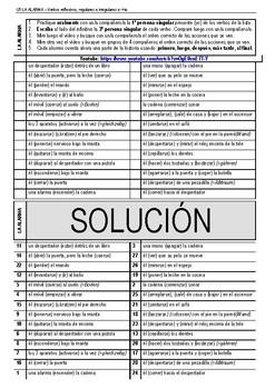 Spanish: regular, irregular verbs e>ie