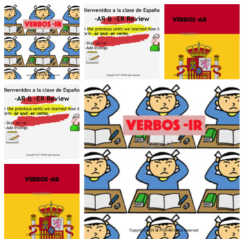 Spanish regular verbs bundle: conjugation and practice