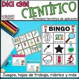Spanish scientific experiment activity | Día del científico |